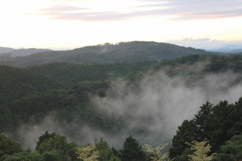 雨の後には雲海がでます。