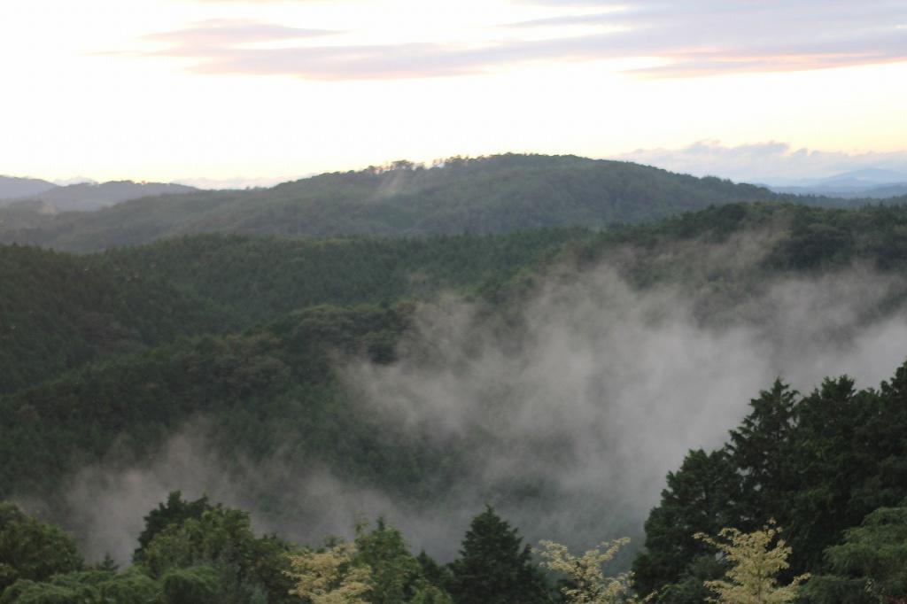 雨の後は雲海がでます。