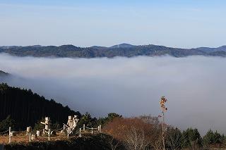 久しぶりの投稿です。この時期、雲海がよく出ます。
